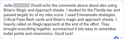 """Would echo the comments above about also using Brian's Magic and Approach sheets."""